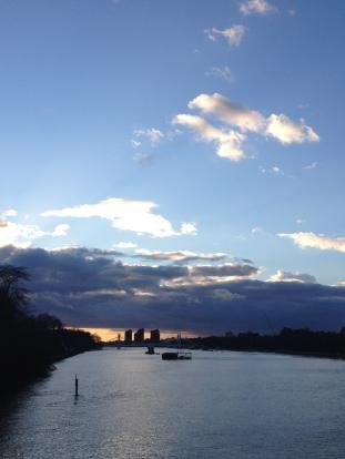 From Chelsea Bridge, London