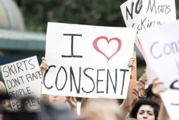 consent placard
