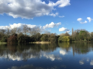Battersea Park lake