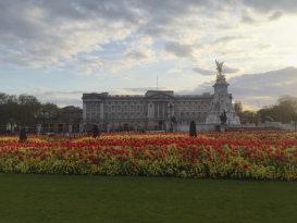 Buckingham Palace in summer