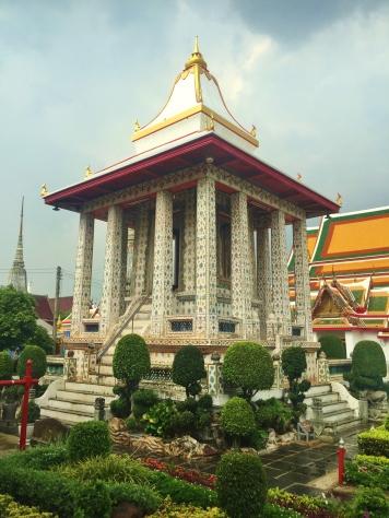 A Wat Arun pavilion