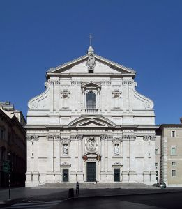 Source: https://en.wikipedia.org/wiki/Baroque_architecture#/media/File:Church_of_the_Ges%C3%B9,_Rome.jpg