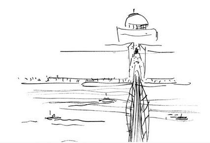 Millenn bridge sketch
