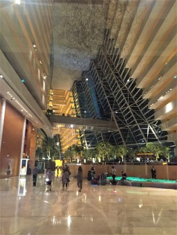 MBS hotel lobby
