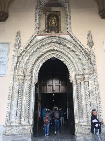 Twisted doorway